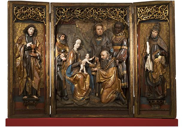 Driekoningenretabel uit ca.  1510