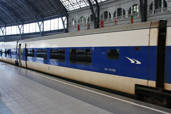 Talgo 73 from Barcelona to Narbonne