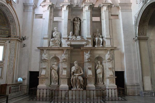 Inside Basilica di San Pietro in Vincoli