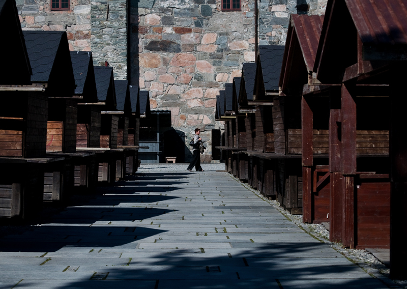 The day before St. Olav Festival in Trondheim