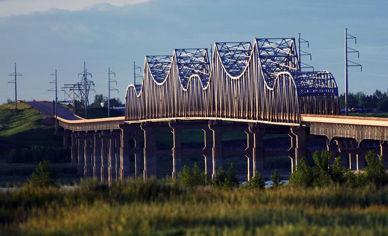bridge near Mobridge SD