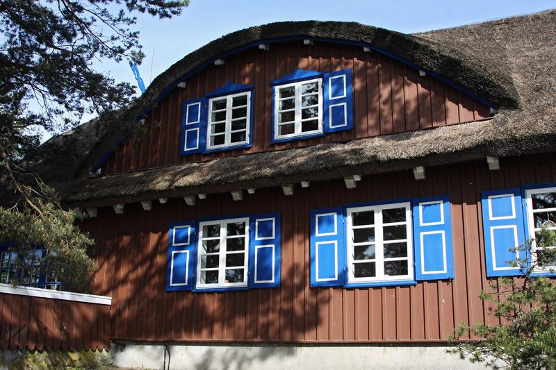 in Nida,Thomas Mann Haus