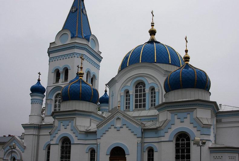 Orthodox church in Jelgava,Latvia