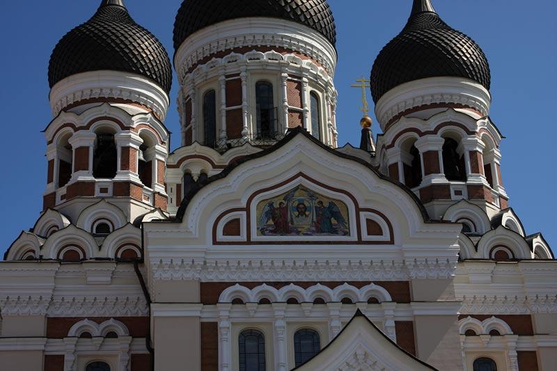 Orthodox Cathedral in Tallinn,Estonia