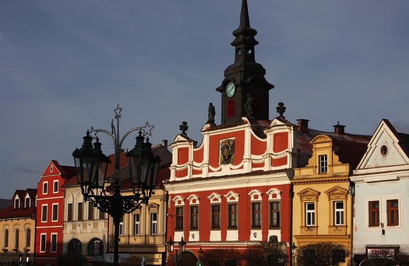 cityhall in Chrudim