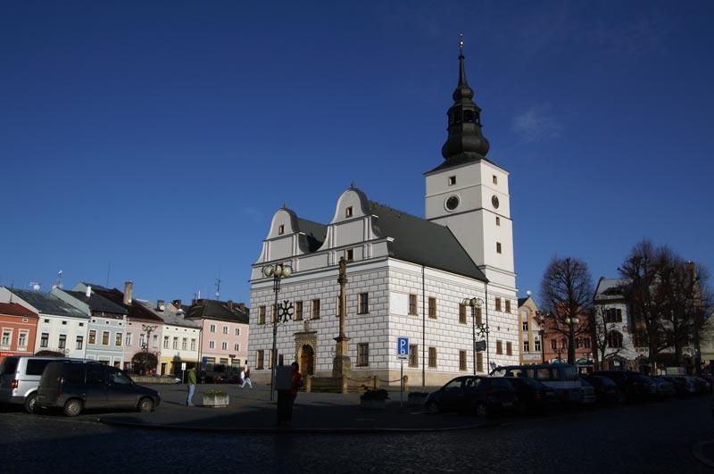 cityhall in Lanskroun