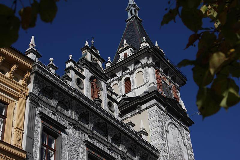cityhall in Prachatice