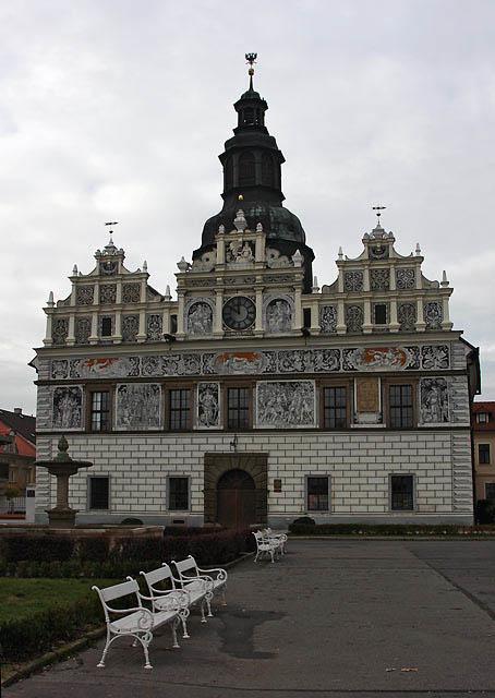 cityhall in Stribro