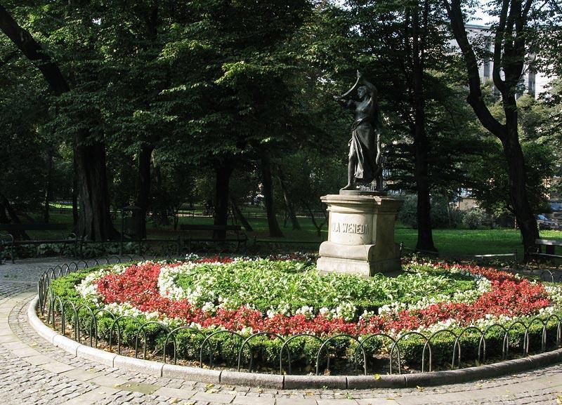 Planty Gardens, Ring of gardens round Krakows Old Town