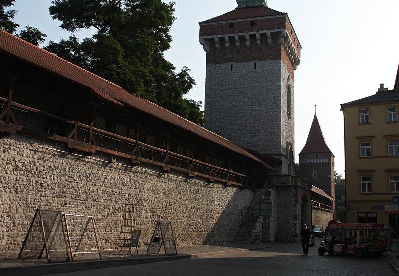 at St Florians Gate