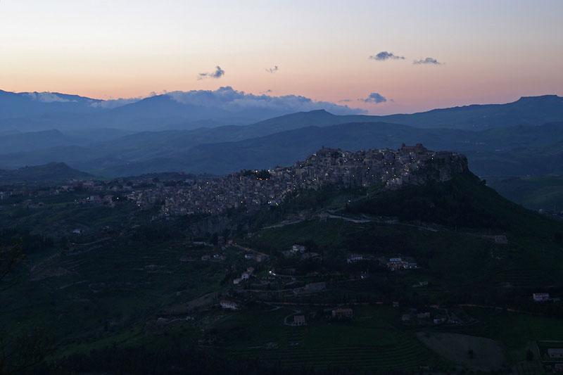 Calascibetta,opposite of Enna,Sicily
