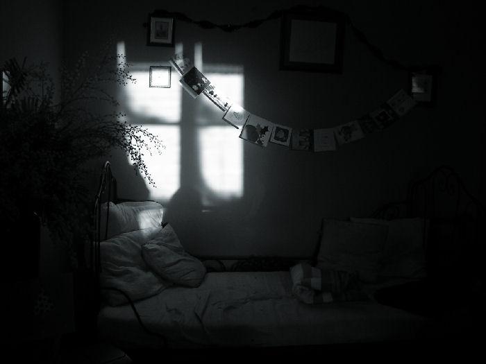 morning light reflection