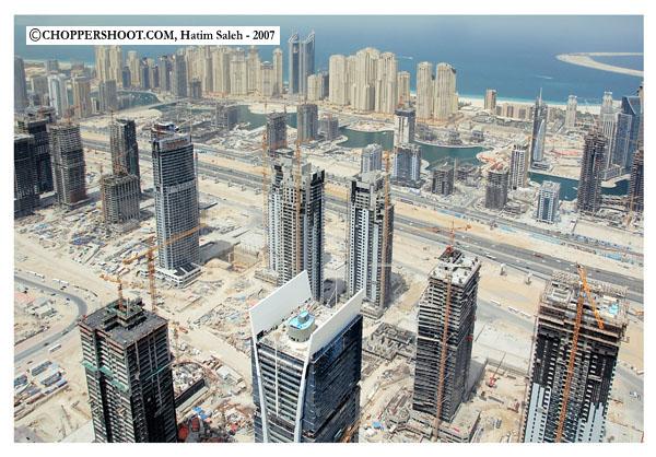 Dubai Marina - Dubai Aerial Images