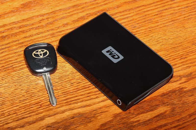 Western Digital 320GB Portable HD