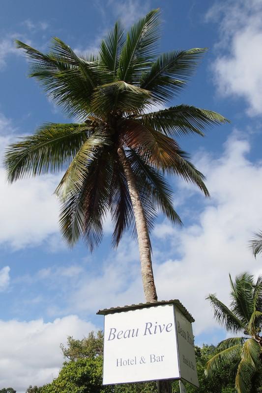 Dominica. Beau Rive hotel.