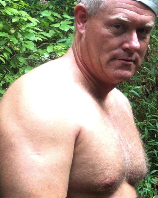 Consider, that Silver chest grandpa porn