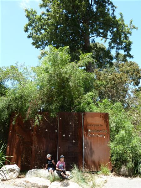 Entrance to Healesville Sanctuary