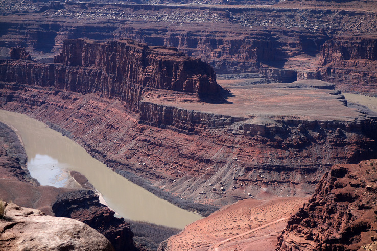 Colorado River at Dead Horse Point,U