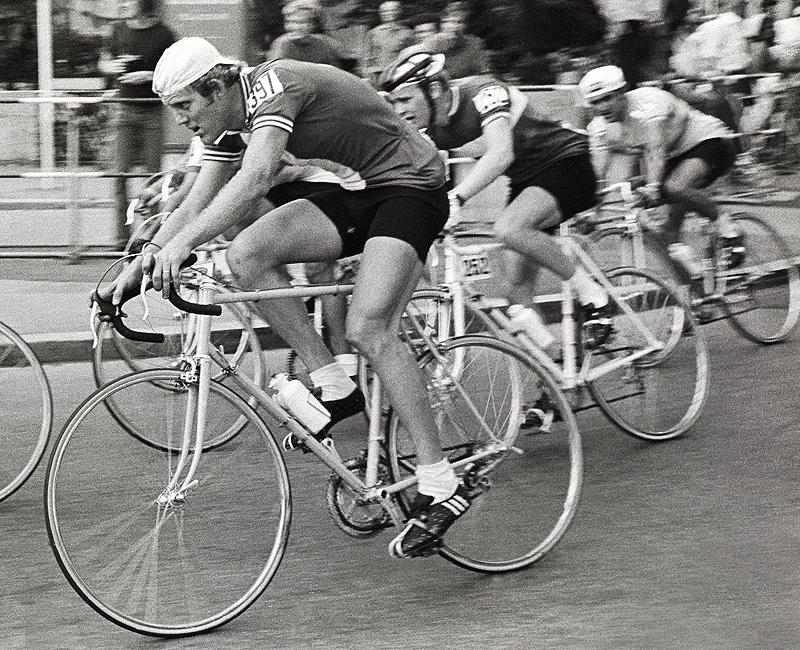 John Howard in Olympic road race, Munich 72