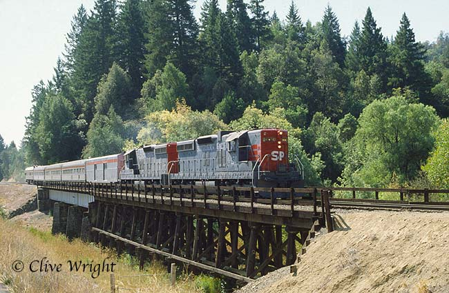 Business Train North of Willits 2