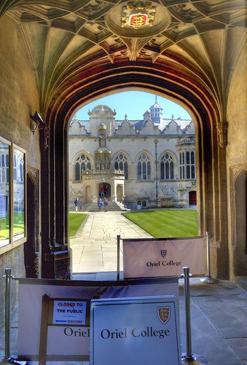 Oriel College - University of Oxford