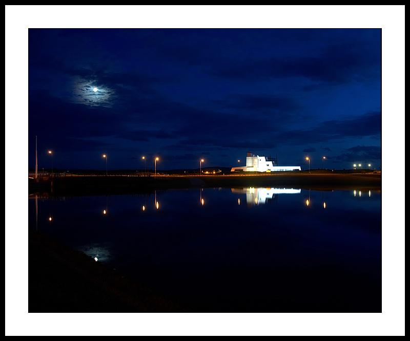 Harbourside moonlight