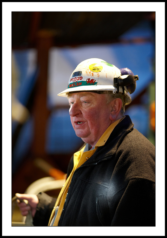 Retired welsh miner