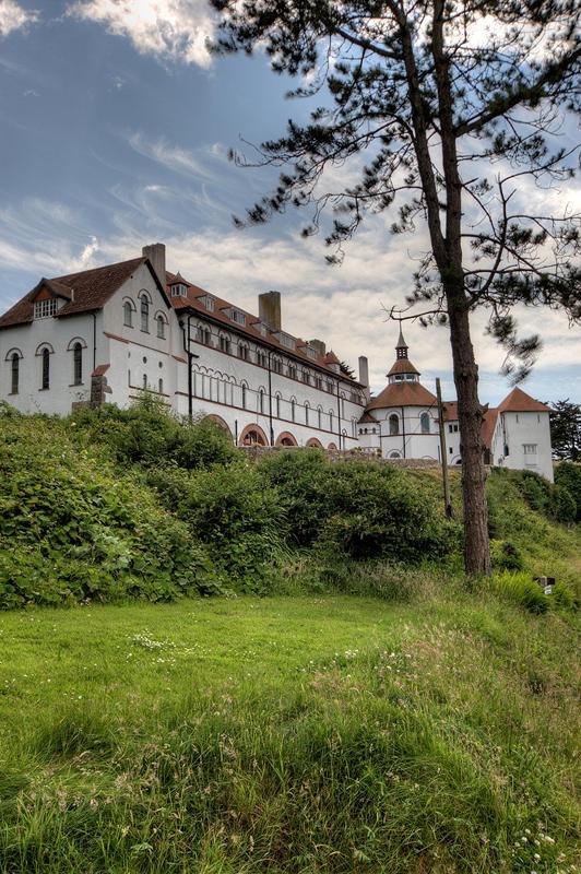 Caldey Is abbey