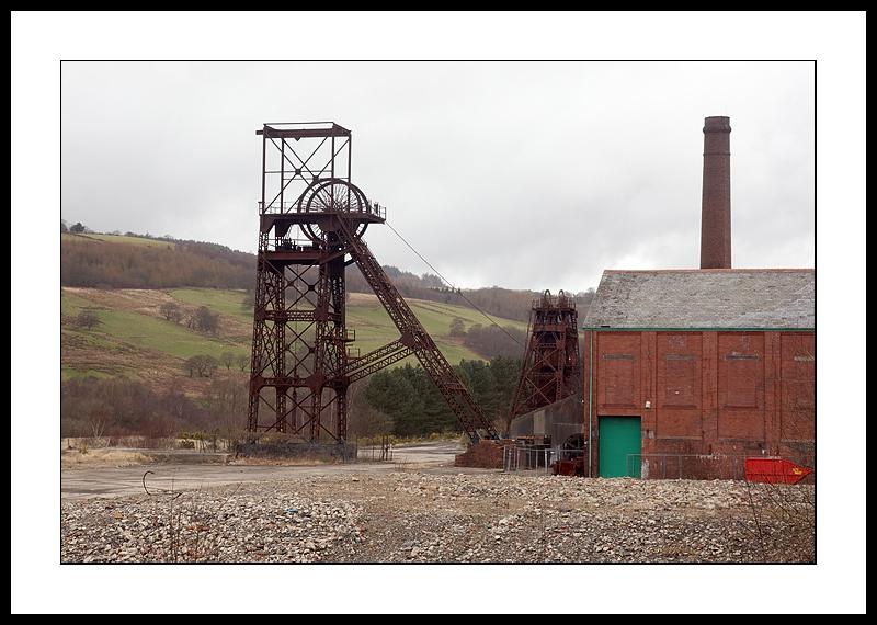 Dereleict coalmine