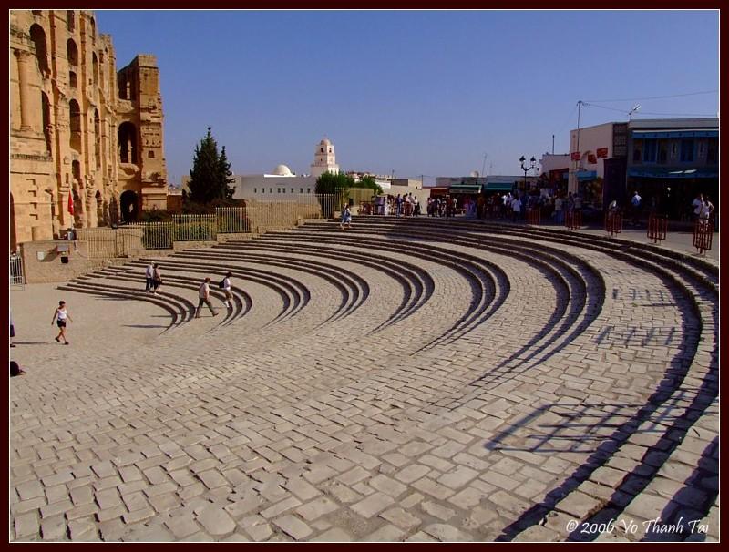 Colosseum terrace