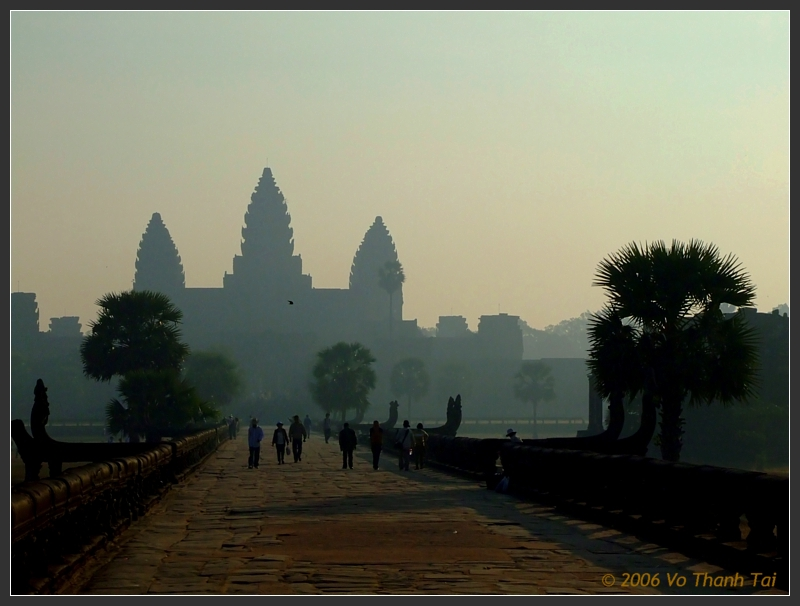 Causeway & Angkor Wat