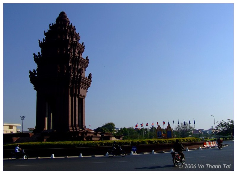 Independence Monument, Phnom Pehn
