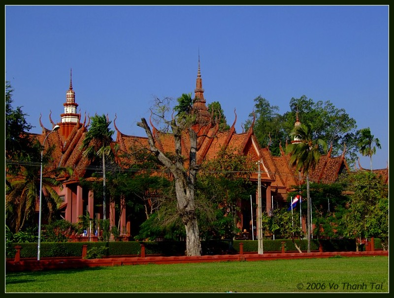 Exterior National Museum, Phnom Pehn