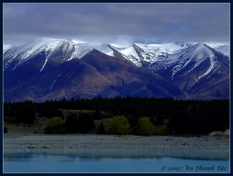 Lake Pukaki & Southern Alps
