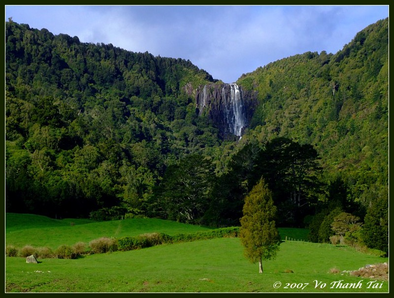 Wairere Falls (153m high), North Island