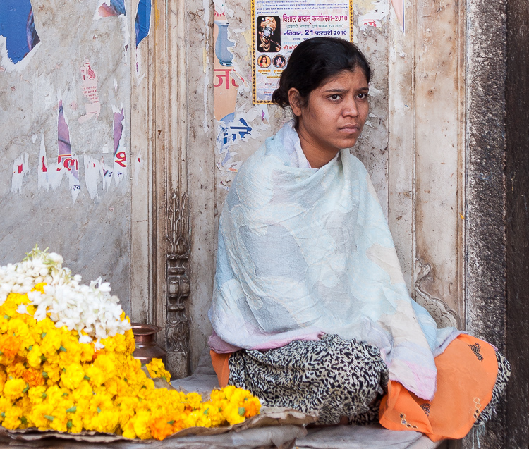 young woman, Jaipur