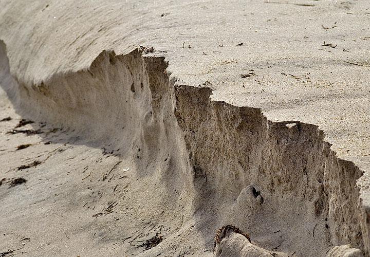 sand rupture