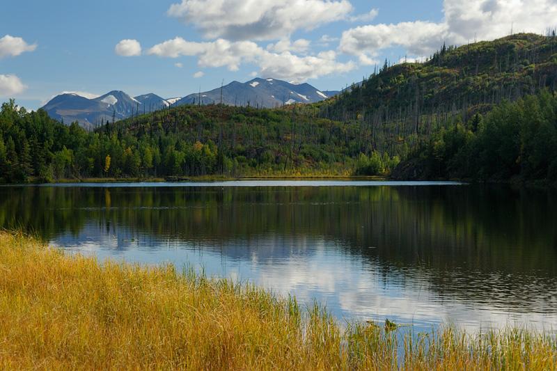 Small Mountain Lake above Skilak Lake