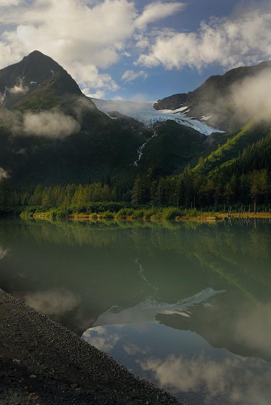 Reflection Near Portage AK