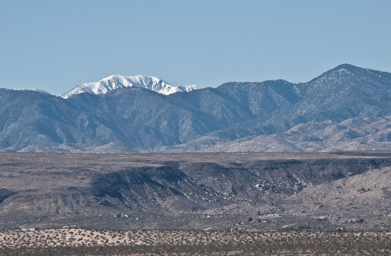 Snow Capped Mt. San Gorgonio