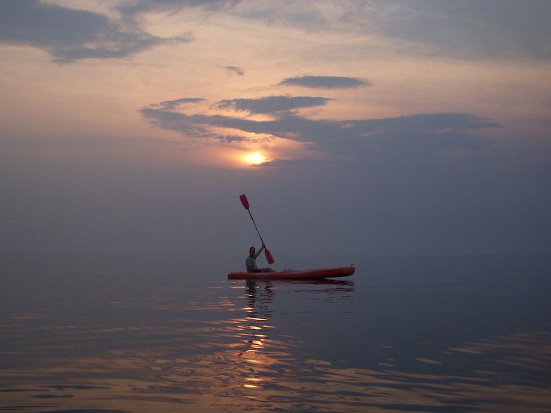 Kayaking Lake Tanganyika