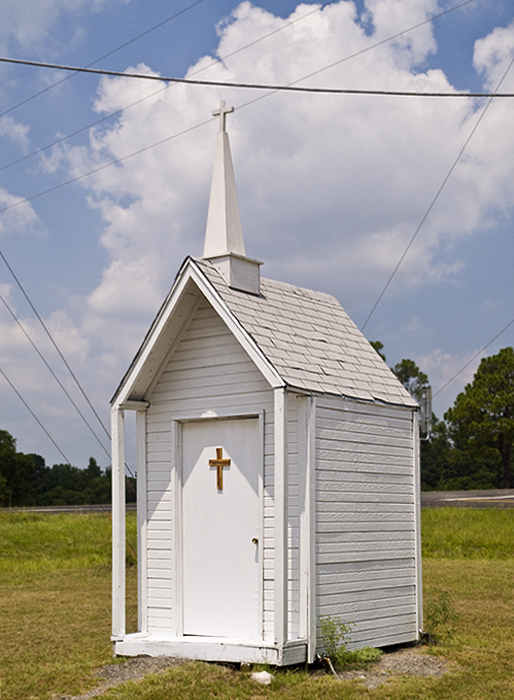 Rather small church, Sulphr Springs, TX