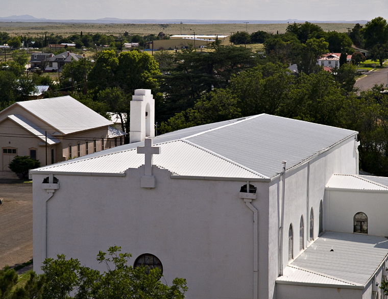 Marfa, Texas #1, from above