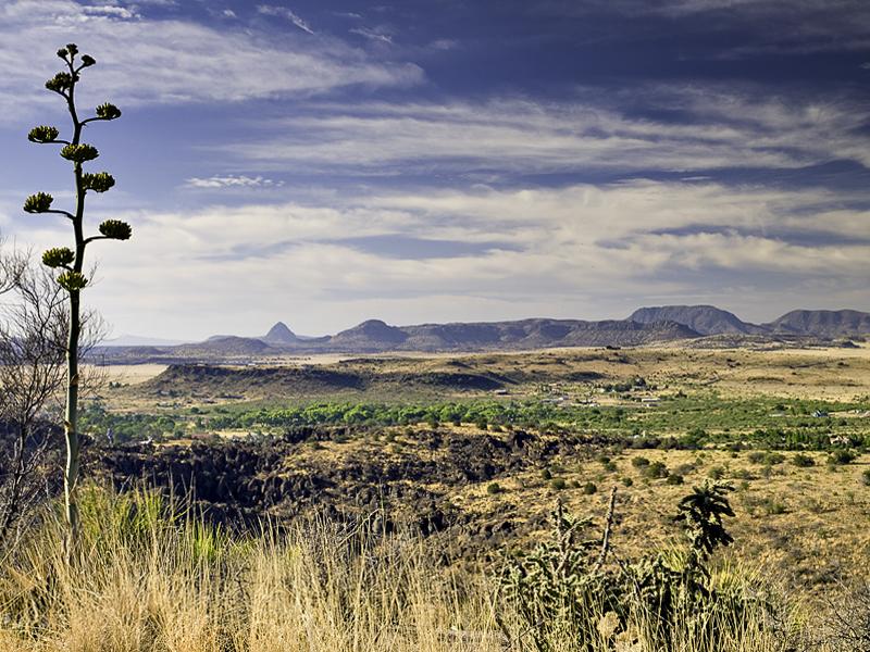 Landscape #4, Davis Mountinas State Park
