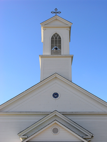 Front detail of church no. 1