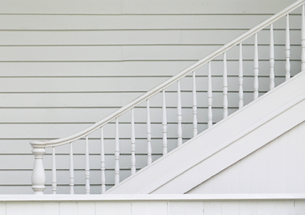 Stairs at Parsons house, cropped