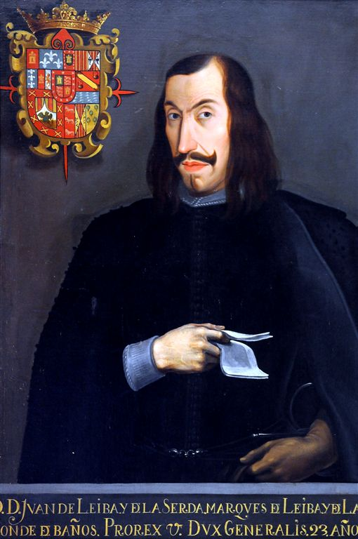 XVI Century Portrait of One of the First Viceroys, Mexico City