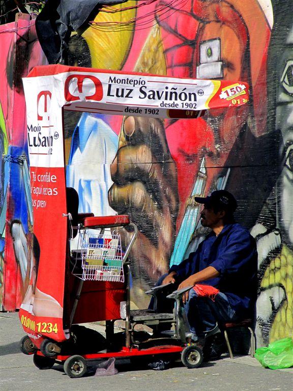 Monopoly Even on Shoes Polishing, Mexico City