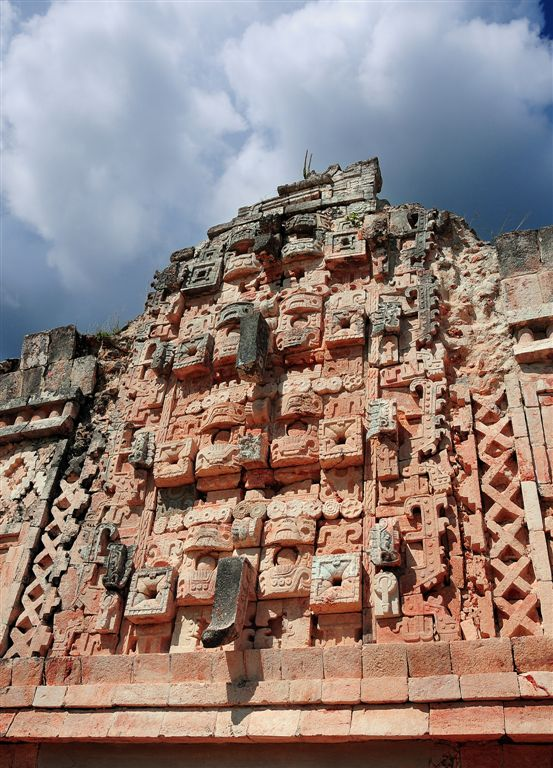 God of Rain Chac, Uxmal Main Court