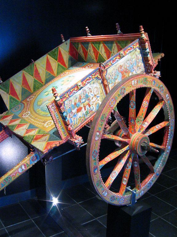 Medieval Cart For Vineyards, Langedoque